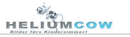 Heliumcow - Bilder fürs Kinderzimmer